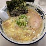 らーめん 菊次郎 - 菊次郎 「塩ラーメン+ワンタン」