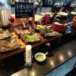 レイクフォレストリゾート - お昼のバイキング 手巻き寿司