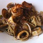 自然派レストラン&一日ひと組の宿 そうか - 秋イカの海鮮パスタ