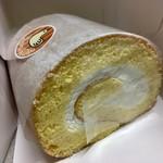 3つのたまご - ロールケーキ ハーフ 550円