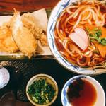 97311756 - 天ぷら!ご飯をやめるとマイナス50円です。