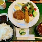 レストラン伊吹 - ミックスA定食