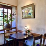 茶房むべ - 4人用テーブル