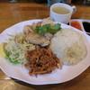 天鶏 - 料理写真:天鶏ランチ850円