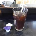 97318141 - 食後のコーヒーはアイスで