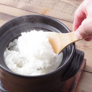 房家本郷限定メニュー!『輝きの土鍋銀シャリ、和牛釜飯』