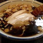 烈志笑魚油 麺香房 三く - 限定メニュー 黒壷