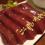 韓食菜炎 ヨンドン - 『生』レバ刺し(1,000円)