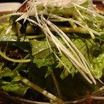 韓食菜炎 ヨンドン - チョレギサラダ(650円)