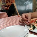 97321633 - チーズが伸びる伸びる