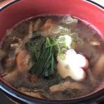 レストラン花咲 - きのこ汁