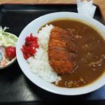 福村食堂 - カツカレー(650円)