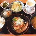 南来成咲 - 角煮セット(ランチメニュー)