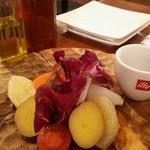 97323532 - 季節野菜のスティックサラダ ピンツイモーニオ