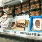 おさかな旭 - 料理写真:売り場の一角('18.9月下旬)