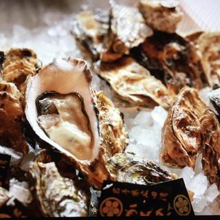 生牡蠣3種類やります!焼き牡蠣もオススメ!