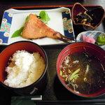 魚季亭 - 金目鯛味噌漬け定食¥1050(粕漬けも選べる)