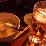 9733624 - 卵スープはしいたけの香り強い