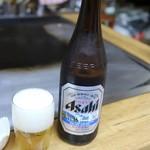 みうら - ドリンク写真:瓶ビール中(500円)