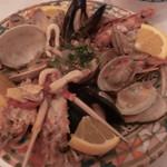 97335924 - クスクス トラーパニ風 魚介のトマト煮込み(2,000円)