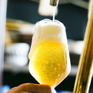 クラフトビール9種と日本酒とワインも充実♪