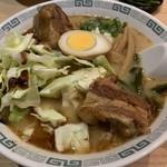 97336807 - 【2018.11.19】太肉麺(ターローメン)1000円