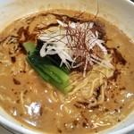 紅蠍 - 白胡麻担担麺・2辛