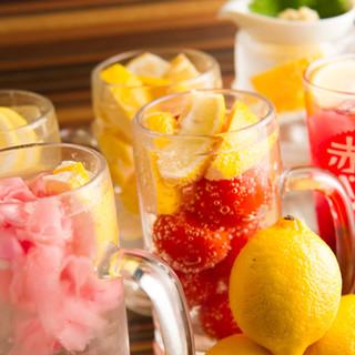 利き酒師が選ぶ全国の地酒と、9種類のレモンチューハイで乾杯!