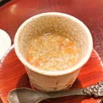 日本料理 太月 - 香箱蟹のたまじめ