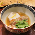 日本料理 太月 - 海老芋、合鴨、じぶ煮