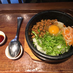 牛辛麺 - ベトナムハーブごはん800円