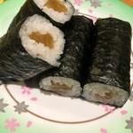 グルメ回転寿司 函太郎 - 自家製かんぴょう巻 130円