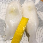 グルメ回転寿司 函太郎 - 活たこ 324円