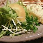 さと舎 - 野菜サラダ・ポテトサラダ
