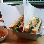 kitahama sandwich APPLIQUE - ツナのサドイッチ