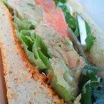 kitahama sandwich APPLIQUE - グラハムのパンが良い感じ!