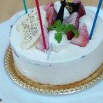 9735780 - 誕生日ケーキ フロマージュ
