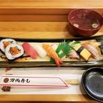万両寿し - 並寿司 1100円