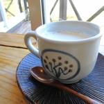 パン工房ささき亭 - ホットミルク