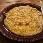 グリーン ルーム - 牡蠣とサツマイモのリゾット
