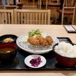 海鮮料理 嘉文 - 料理写真:カキフライ定食