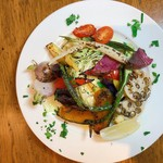 16種類の厳選野菜の窯焼き