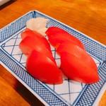 大衆割烹 百仁香 - 冷やしトマト