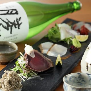 ご接待・会食に【飲み放題付き】おまかせ日本酒ペアリングコース
