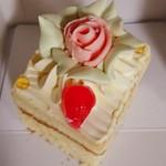 三星 - 料理写真:懐かしのバターケーキ 280円