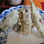 仲佐 - 季節の天ぷら盛り合わせ