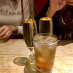 タンジェ - いきなりジンバックで乾杯
