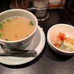 97365524 - スープと生春巻き