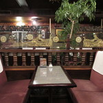 シャルラン - テーブル席
