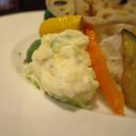 ビストロます家 - スパイシー 野菜カレー